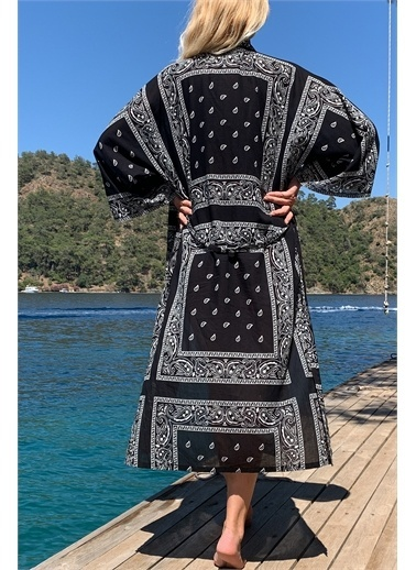 Moda Butik Şal Siyah